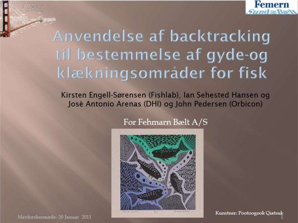 19.backtracking of fish eggs and larvae in fehmarn belt_dansk havforskermøde 2011